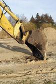Excavator arm — Stock Photo
