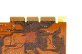 Brown Circuit Board — Stock Photo
