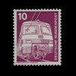 Eastern germany postage stamp — Stock Photo