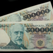 Foto de Stock  : Five hundred thousand zloty