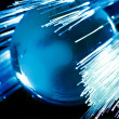 Earth and fiber optics — Stock Photo #2411672