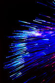 Fiber optics background — Stock Photo