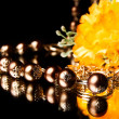 Stock Photo: GOLDEN BEADS