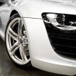 WHITE SPORTS CAR — Stock Photo #2445677