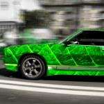 Car leaf — Stock Photo