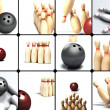 Royalty-Free Stock Photo: Bowling