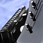 Guitar headstock and harmon — Stock Photo #2446875