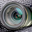 Photo objective — Stockfoto