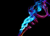 Fire smoke — Stockfoto