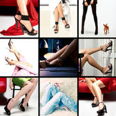 Female legs — Stock Photo