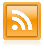 Icon RSS — Stock Photo