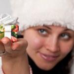 Christmas girl — Stock Photo #2569981
