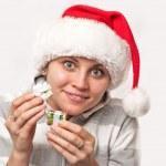 Christmas girl — Stock Photo #2570135
