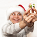Christmas girl — Stock Photo #2570141