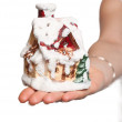 House in a hand — Stock Photo #2578352
