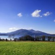killarney lake with mountains — Stock Photo