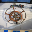 Steering wheel — Stockfoto