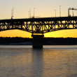 Sunset on Bridge — Stock Photo #2271258