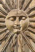 Sun Face — Stock Photo