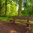 Park bench — Stock fotografie #2371077