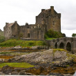Ancient scottish castle - Stock Photo