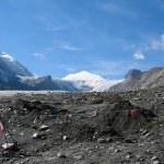 View on a glacier — Stock Photo