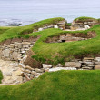 Old settlement skara brae — Stock Photo