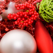 Xmas decoration ornaments — Stok Fotoğraf #2374259