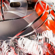 Stockfoto: Xmas decoration with gift box
