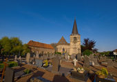Graveyard on a sunny day — Stock Photo