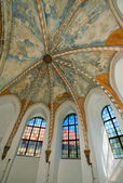 Church windows — Stock Photo