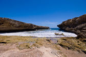 Rocky shore shete boca national park — Stock Photo