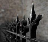 Pointy fence — Stock Photo