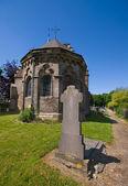 Church tombstone — Stock Photo