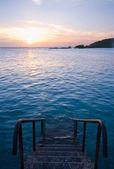 Sea swimming pool — Stock Photo