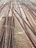 Railway tracks — Foto Stock