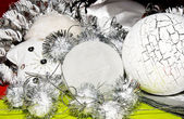 Xmas decoratie ornamenten — Stockfoto