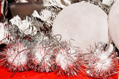 Xmas decoration ornaments — Stock Photo