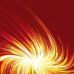 Explosion of light — Stock Vector