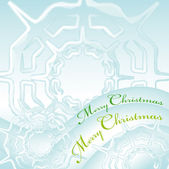 Merry christmas greeting card 3 — ストックベクタ