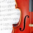 Stock Photo: Violin music classic string instrument