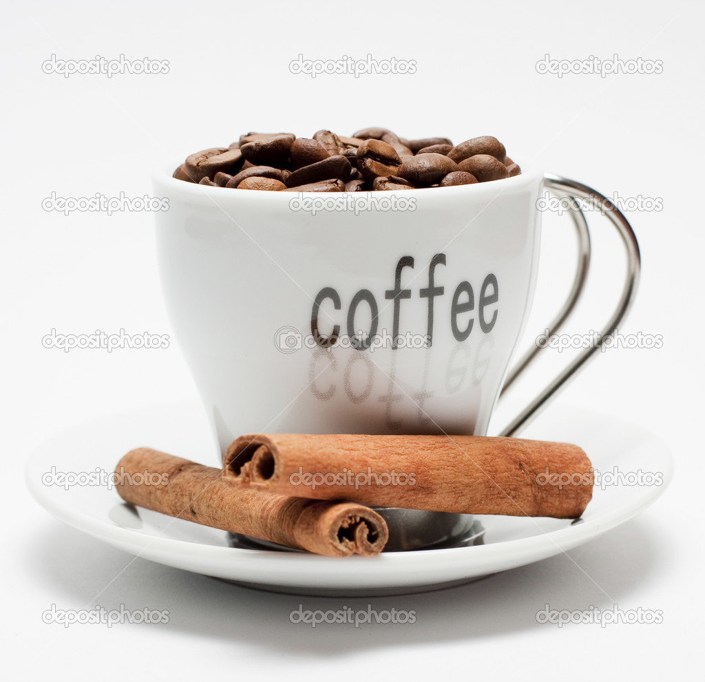 Coffee and cinnamon — Stock Photo #2347284