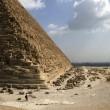 Great Pyramid of Giza — Foto Stock