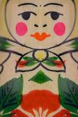 Babushka doll detail — Stock Photo