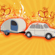 Camping fantasy — Stock Photo