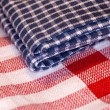 Checkered cloth — Stock Photo