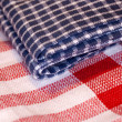 Checkered cloth - Foto Stock