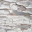 Stock Photo: Cracked paint on wood texture