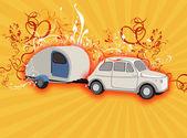 Camping fantasy — Stock Photo