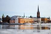 Stockholm in winter — Stock Photo